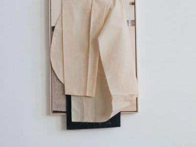 margret wibmer, composition with kimono, 2020