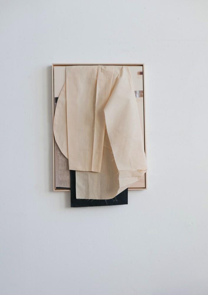 margret wibmer, composition with kimono, 2020