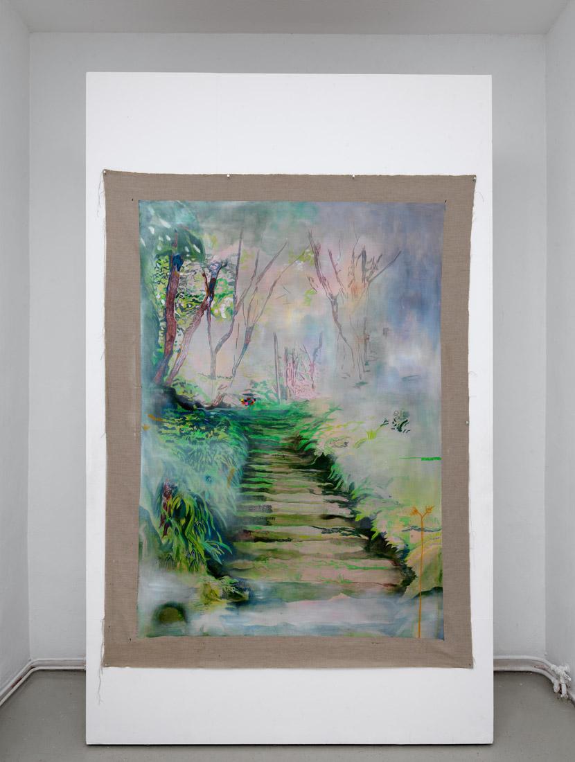 hili greenfeld, untitled painting, 2019