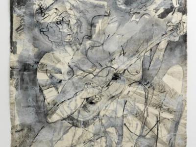 iva gueorgueiva, shredding and letting the spirit on through, 2021